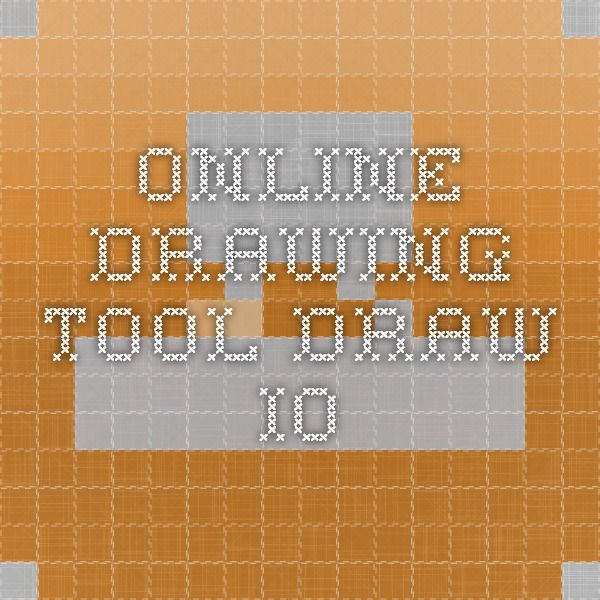 Online drawing tool - draw.io | Tech Theater Resources | Pinterest ...