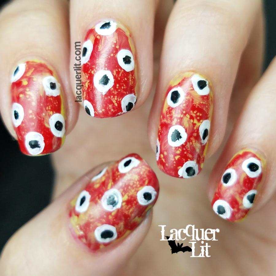 Halloween Eyeball Nail Art – Lacquer Lit   Halloween ...
