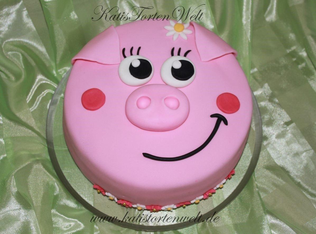 3d Kuchen: Schweinchen-Kuchen
