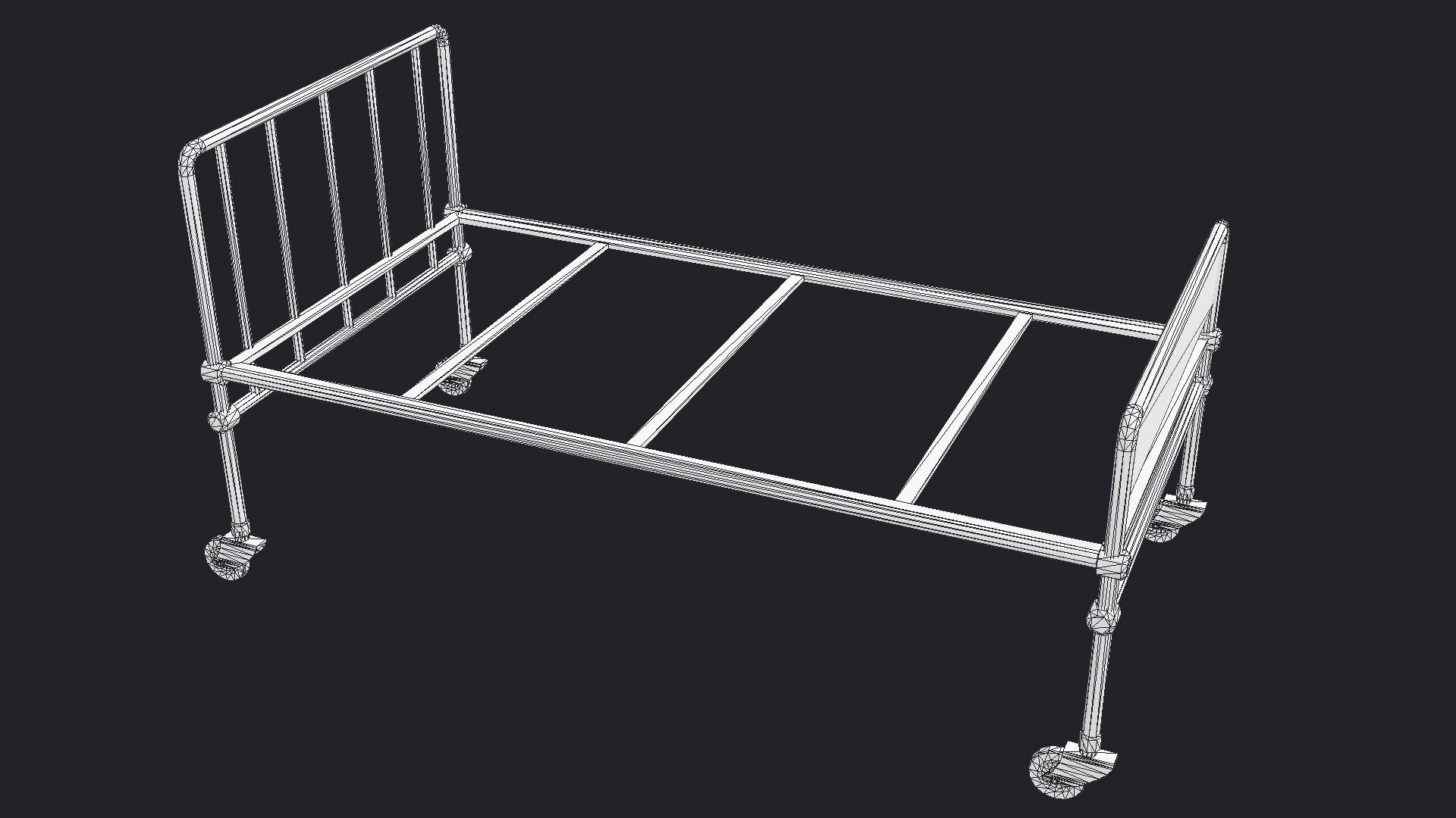 Hospital Bed Hospital furniture, Metal beds, Hospital bed