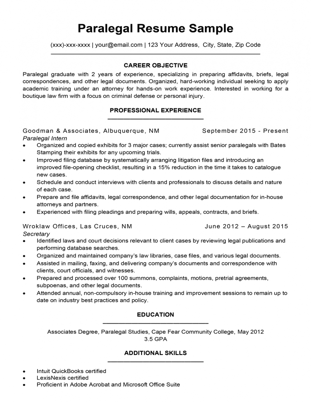 Career Objective Examples For Law Graduate In 2021 Career Objective Examples Resume Objective Resume Template Examples