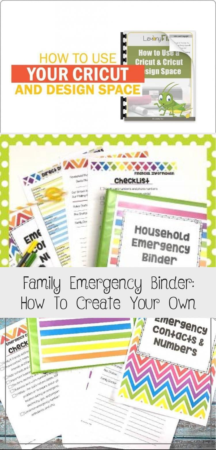Family Emergency Binder: How To Create Your Own #importantdocuments