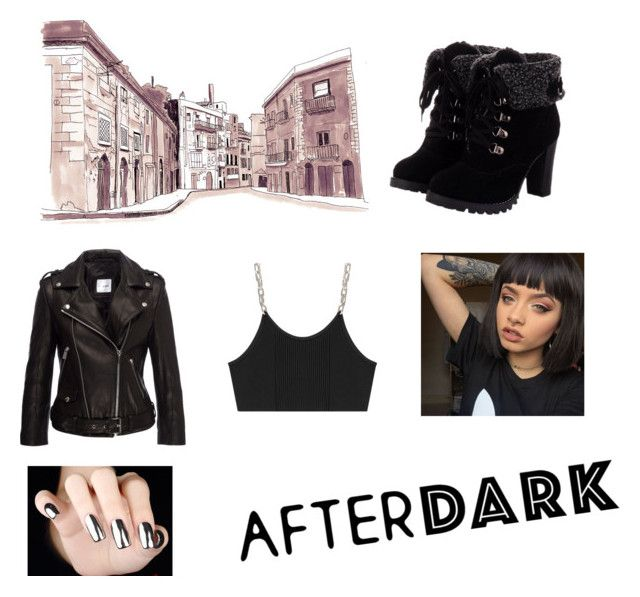 """Street Gang"" by bluebelldaisy2006 ❤ liked on Polyvore featuring Anine Bing and Alexander Wang"
