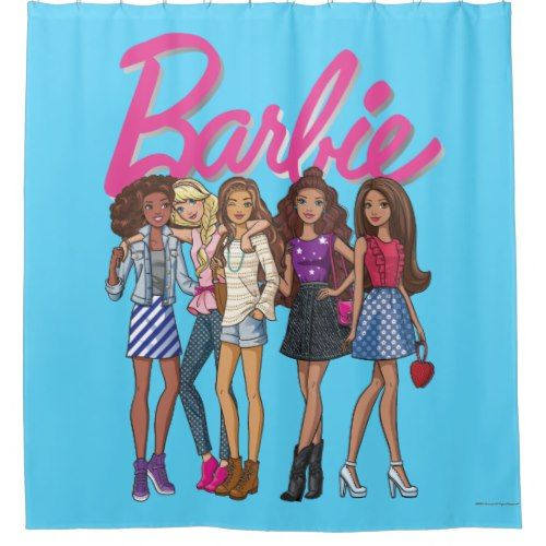 Barbie Girls Can Shower Curtain