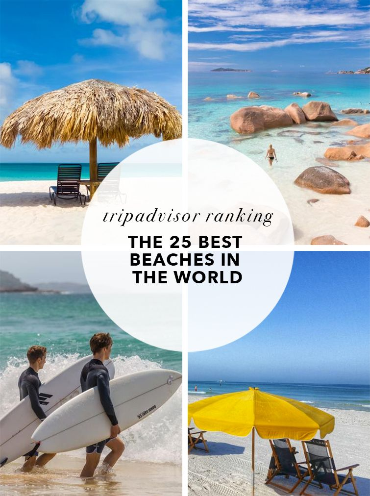 Ranked The 25 Best Beaches In The World According To Tripadvisor Users Beaches In The World Trip Advisor Beach