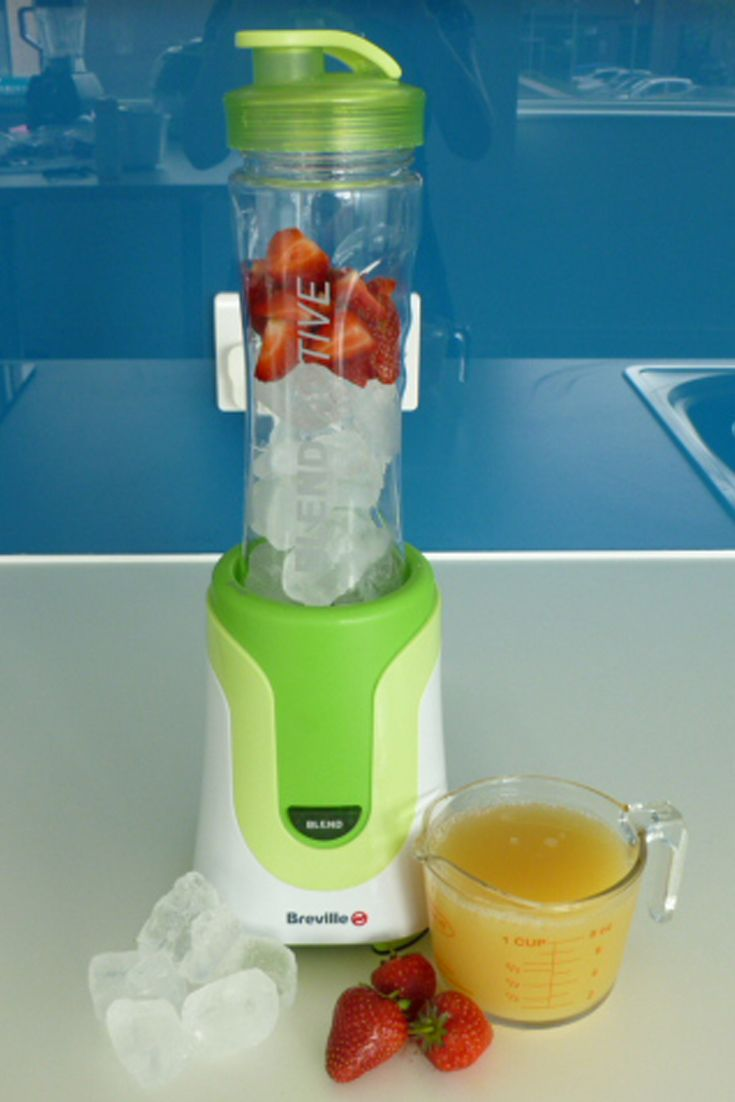 Blend-Active Strawberry and pineapple slush Recipe http://www ...