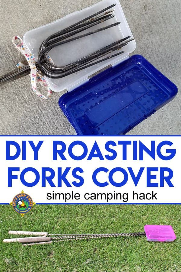 Photo of DIY Roasting Forks Cover Tutorial