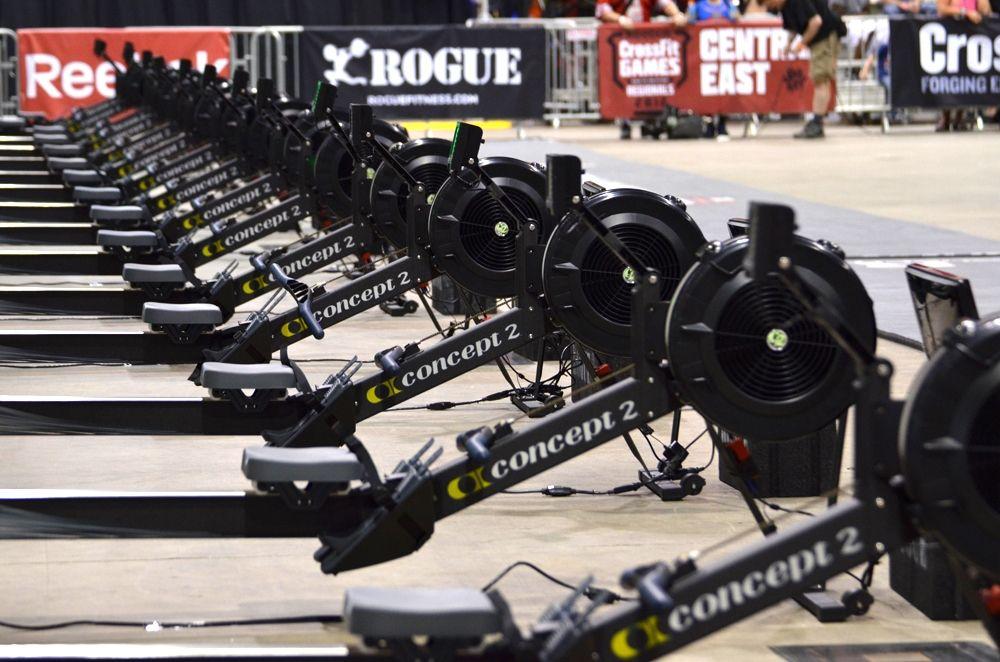 Black Concept 2 Model D Rower Pm5 Crossfit Home Gym Crossfit Garage Gym Rowing