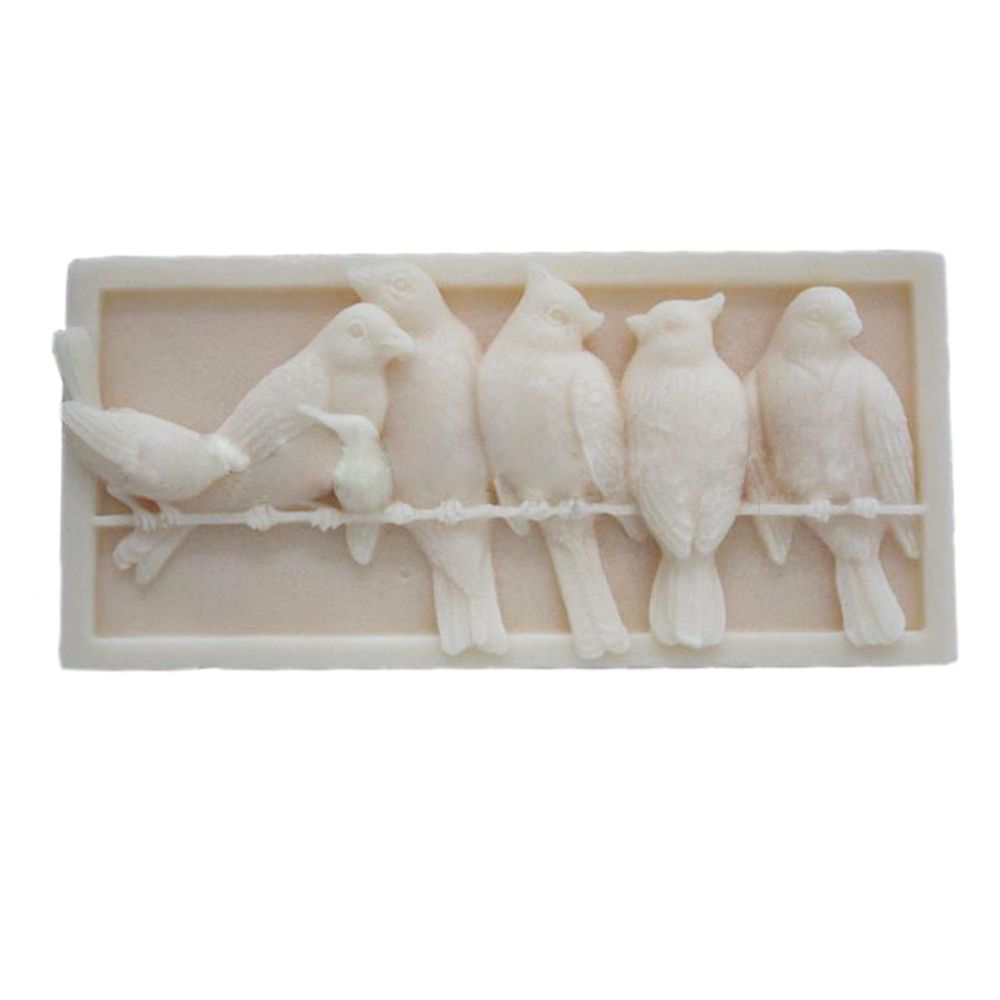 Details about birds soap molds candle molds silicone soap making