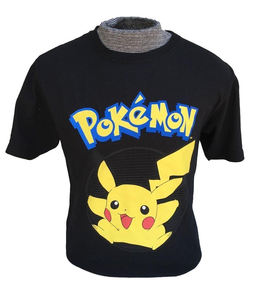 3c8152ab UNISEX POKEMON GO Shirt Black Pikachu Tee T-Shirt S M L Valor Mystic  Instinct #Unbranded #GraphicTee
