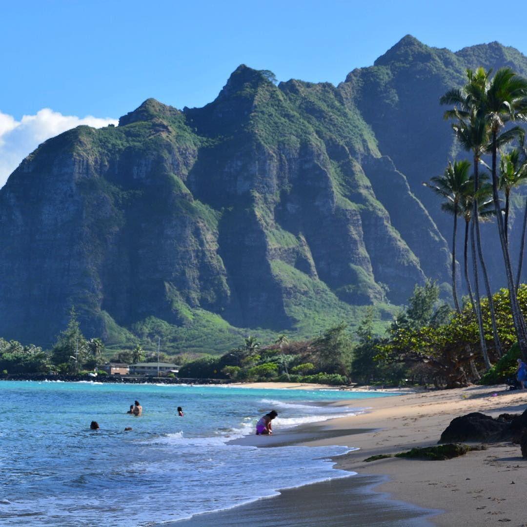 Beach House In Oahu: Paraíso! Paradise Is Here! #kaaawa #hawaii #havai #oahu
