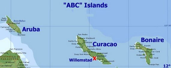 Abc Islands Aruba Bonaire And Curacao