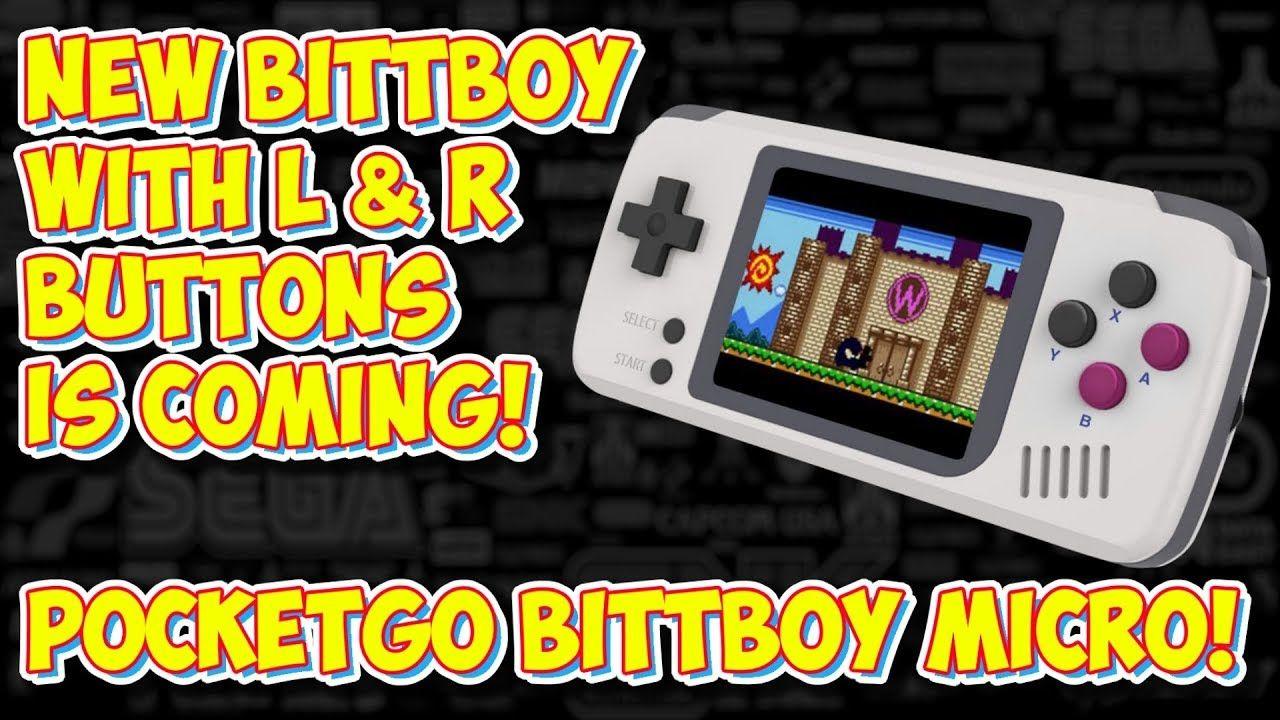 NEW BittBoy PocketGo Is Coming    It Has