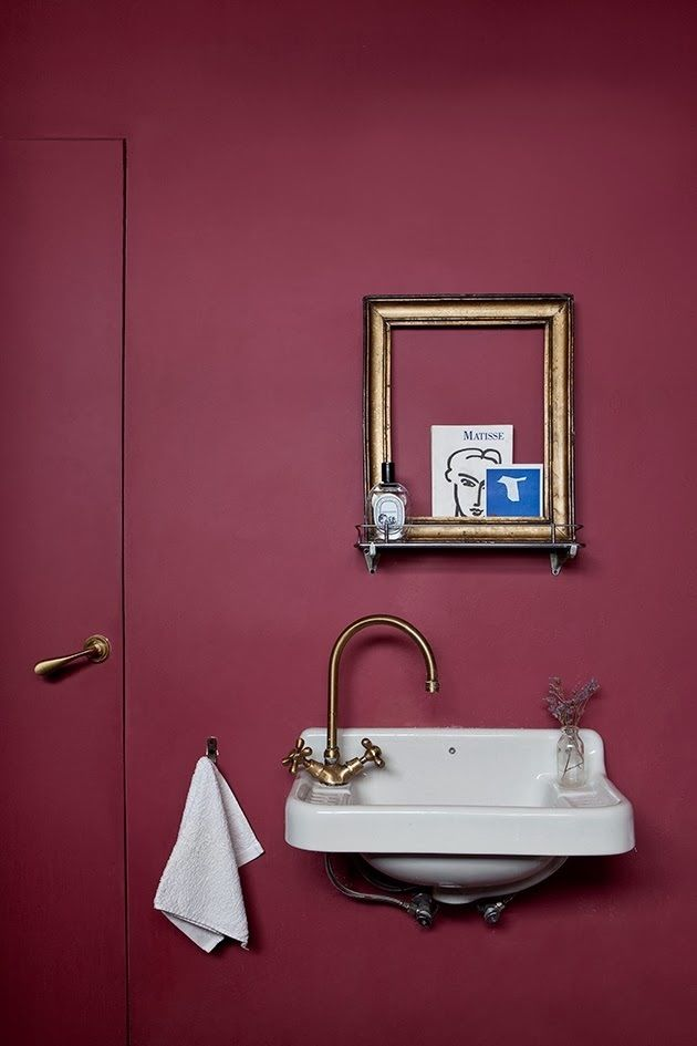 the red bath room - Red Bathroom 2015