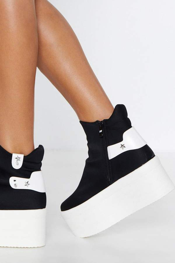 85157ab44 Star-t Over Platform Sneaker | Products | Platform sneakers, Shoes ...