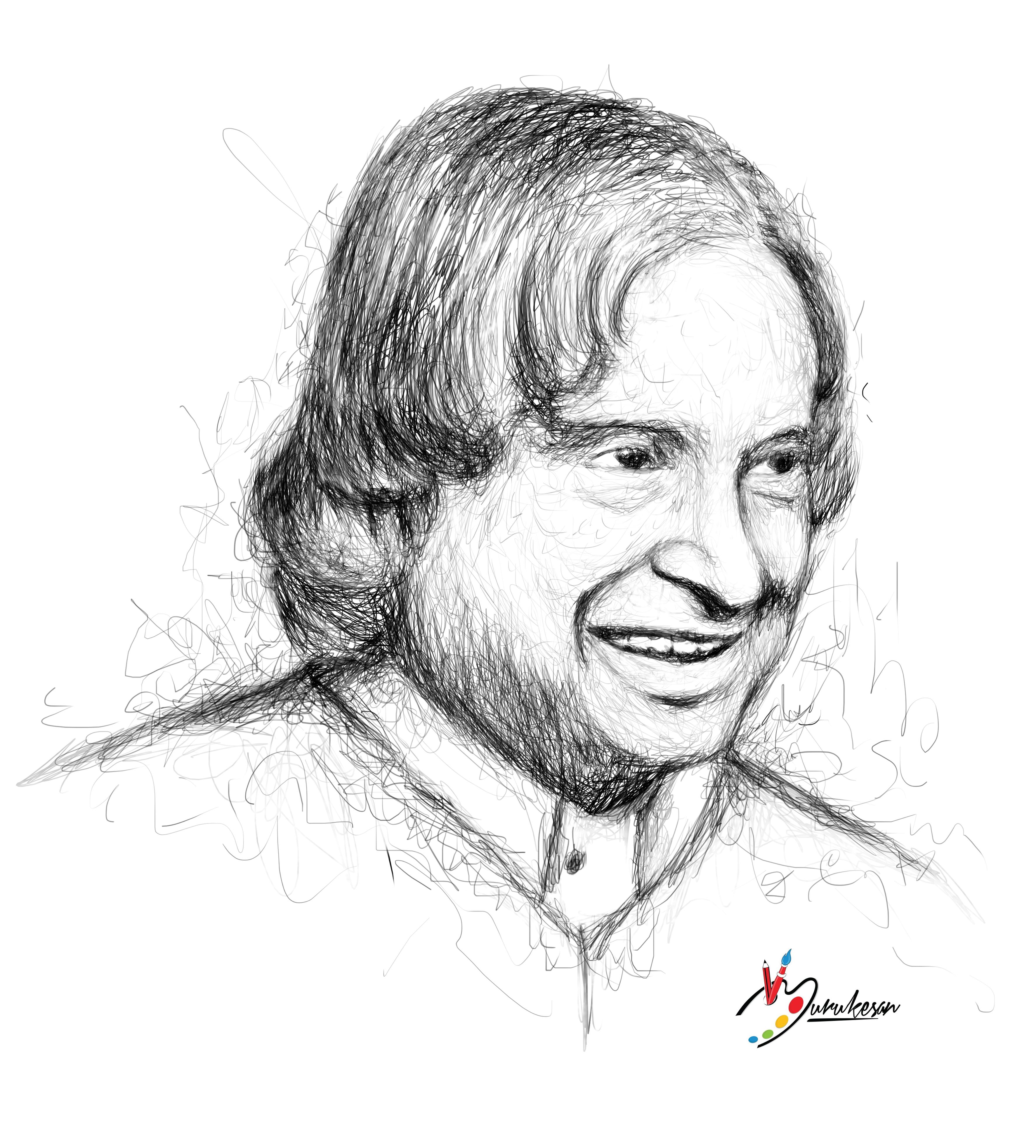 Pencil · ideas for drawing · dream hero abdul kalam sir abdul kalam hand sketch drawing sketches