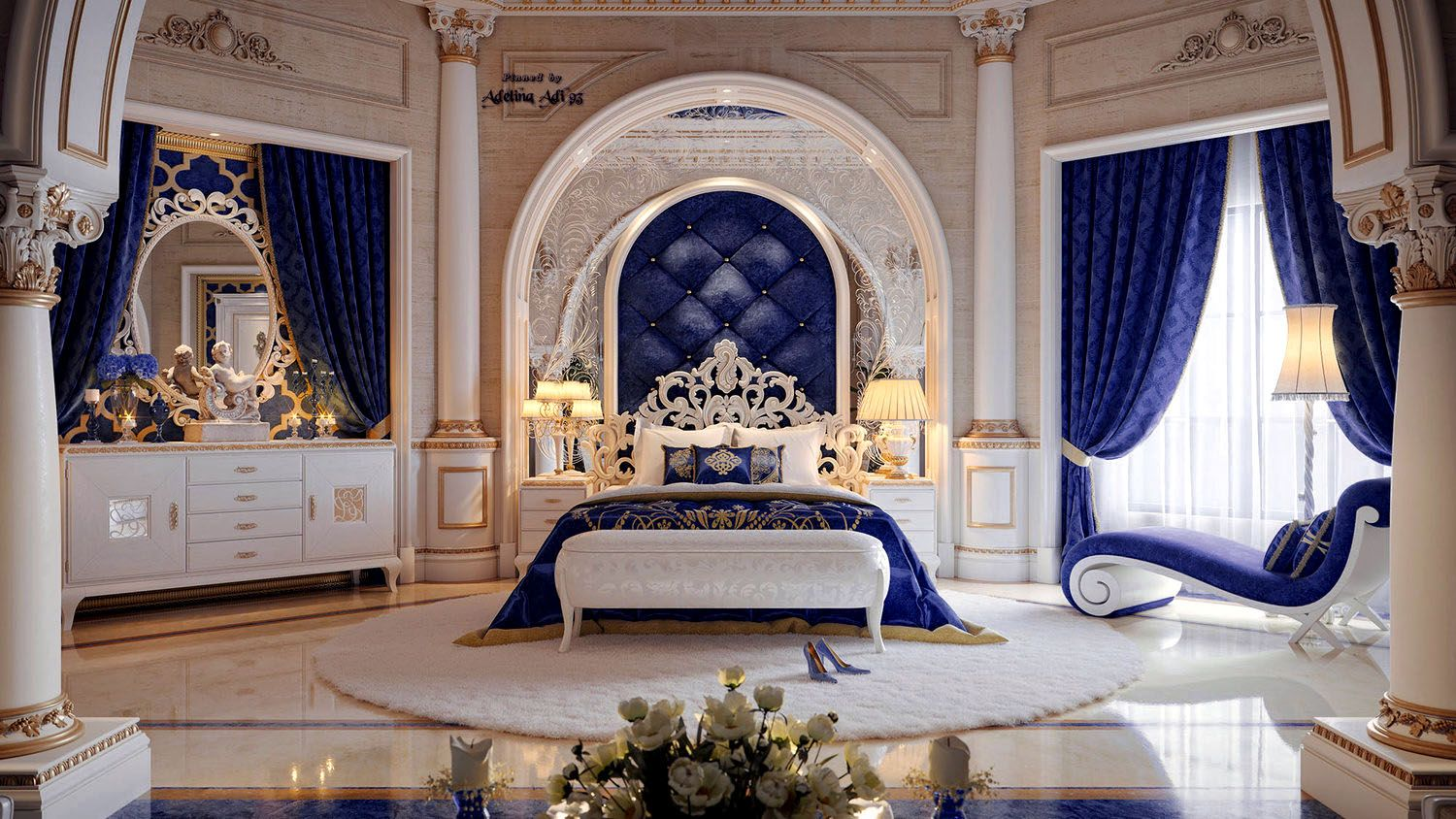 Master Bedroom Interior Qatar