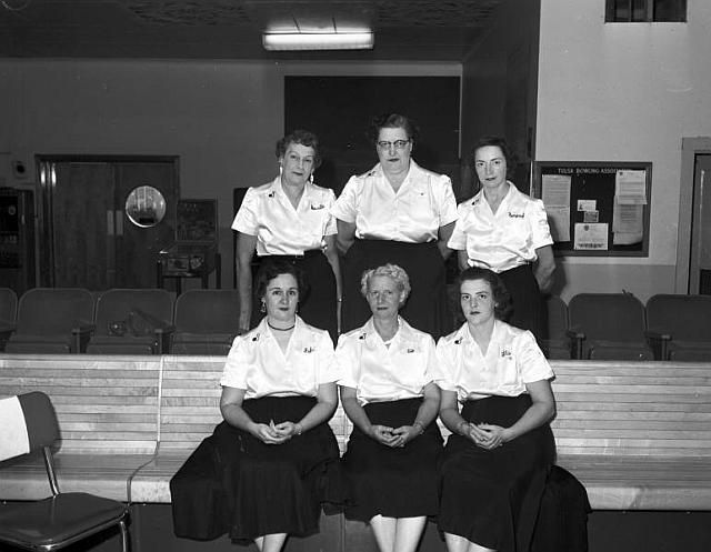Tulsa Tv Memories Guestbook 130 Bowling Team Tulsa Women