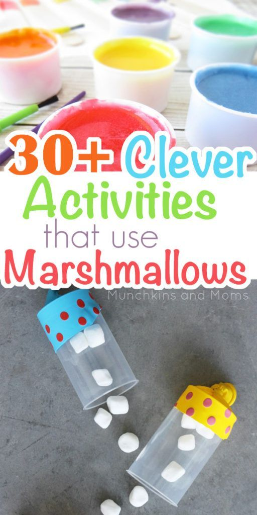 30+ Clever Activities that use Marshmallows | Summer ideas, Fun ...