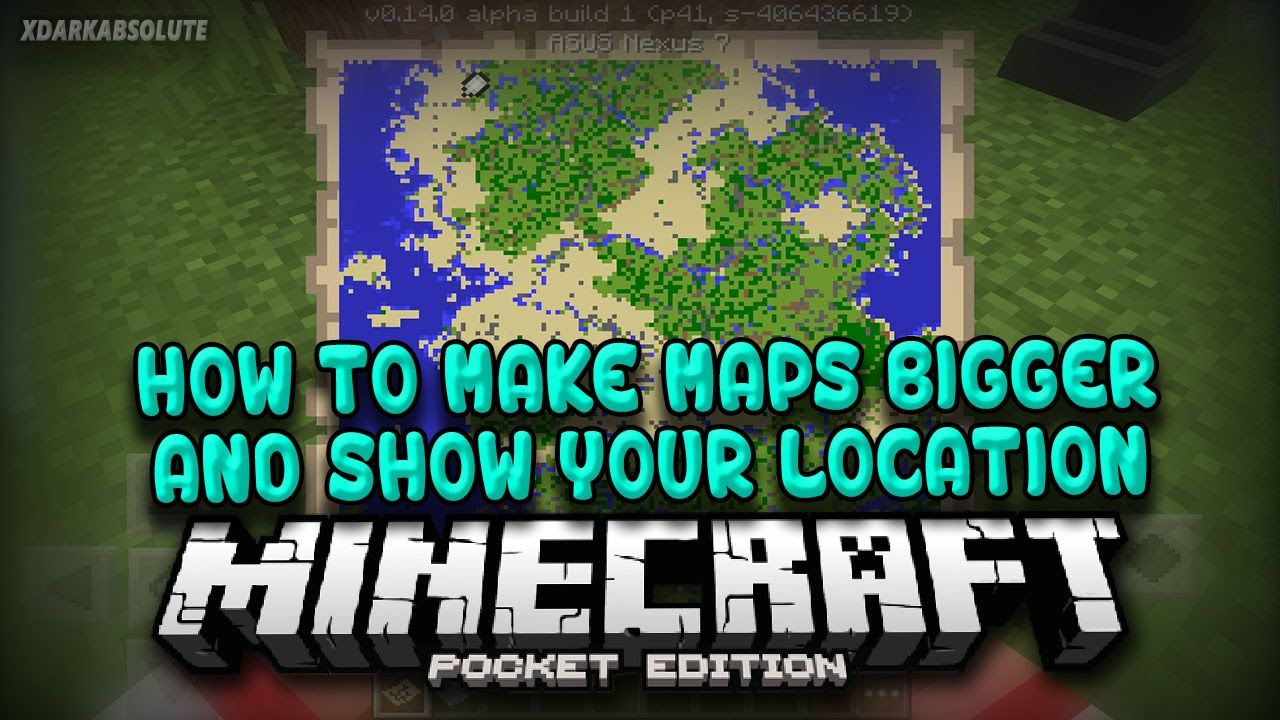 MCPE] How To Make Maps Bigger and Show Yourself On Maps in ... on make a star in minecraft, make a car in minecraft, make a flag in minecraft, make a chair in minecraft, make a pickaxe in minecraft, how do you make a sponge in minecraft, make a compass in minecraft, make a fishing rod in minecraft, make a boat in minecraft, make a paper in minecraft, make a book in minecraft, make a clock in minecraft,