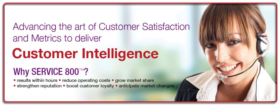 Customer Service Jobs - Service 800 - Customer intelligence