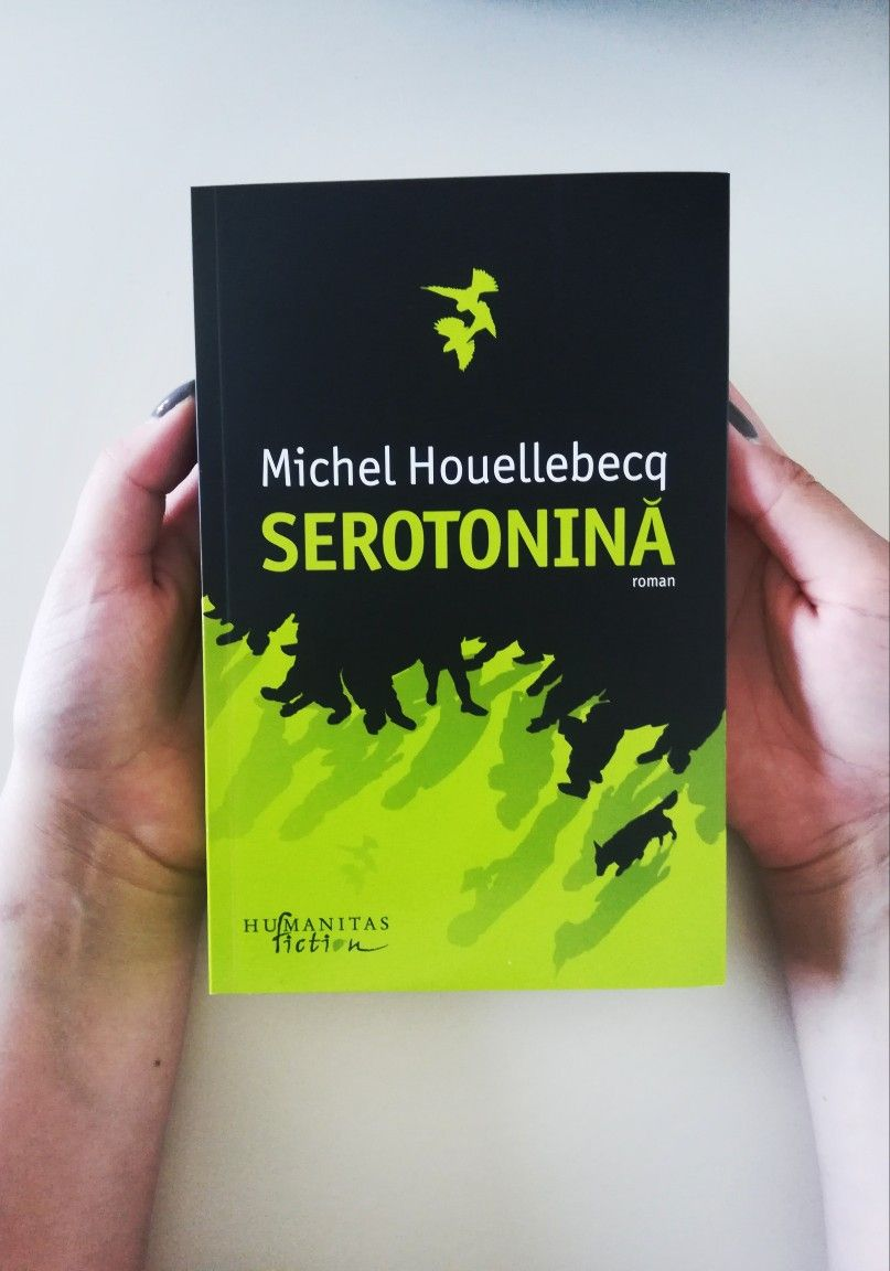 Serotonina Michel Houellebecq Book Cover Books Playbill