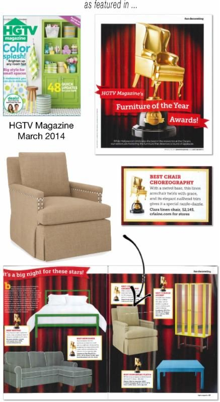 hgtv magazine 2014 furniture. CR Laine Is Honored To Be Awarded HGTV Magazine\u0027s Furniture Of The Year Award For Our Hgtv Magazine 2014