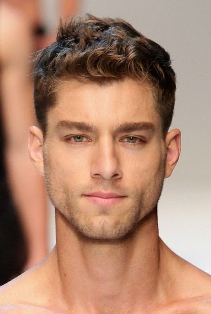 Mens Hairstyles Cool Easy Hairstyles Globezhair Thick