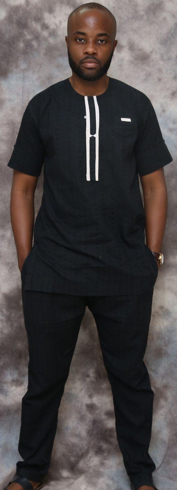 Polka Dot Masculine Africain V Tements Africains