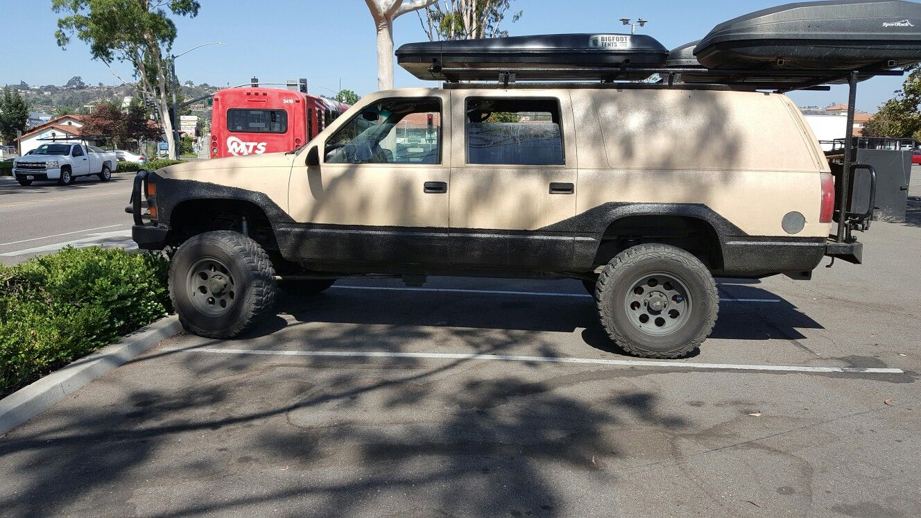4x4 Chevy Suburban Overland Build Chevrolet Bug Out Vehicle Rv Trailers Offroad
