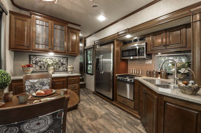 Heartland Bighorn Love The Kitchen And Front Living Room Fifth