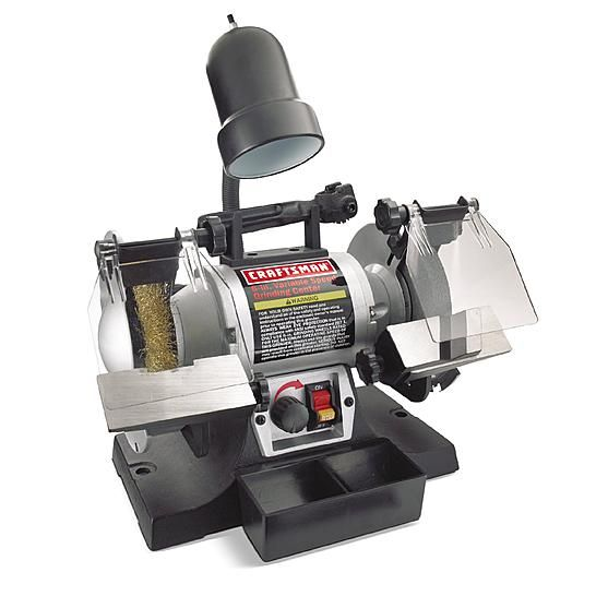 Craftsman Variable Speed 6 Grinding Center 21154 Bench Grinder Bench Grinders Craftsman Tools