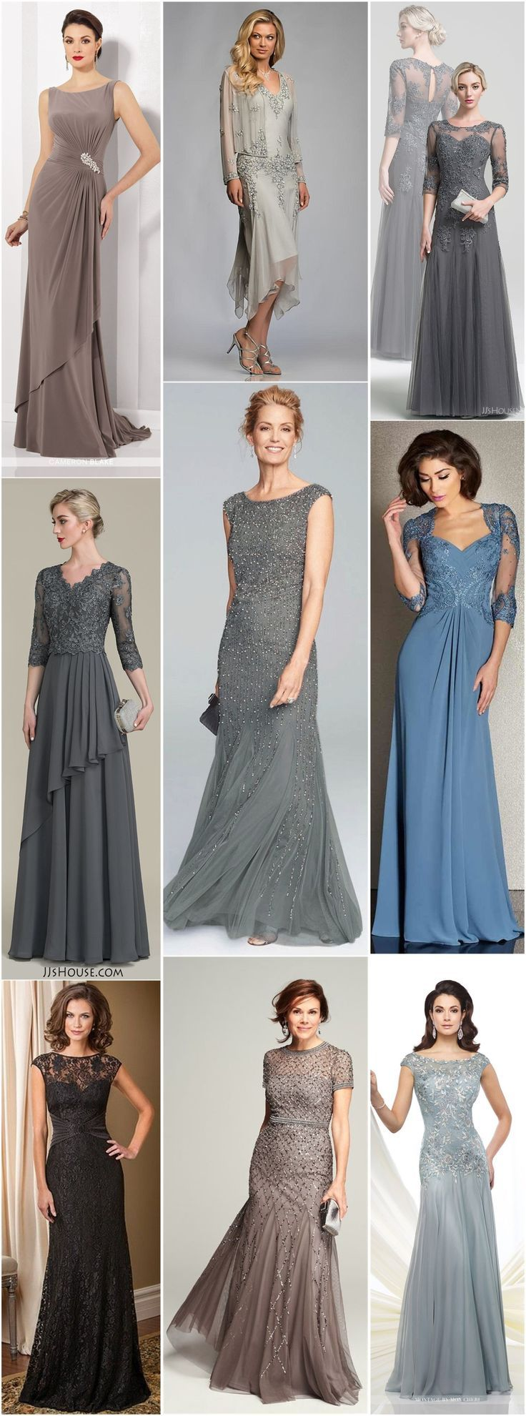 18 Long Length Mother of the Bride and Groom Dresses #groomdress