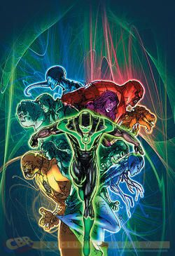 """FIRST LOOK: Mahnke's """"Green Lantern"""" #17 Cover - Comic Book Resources"""