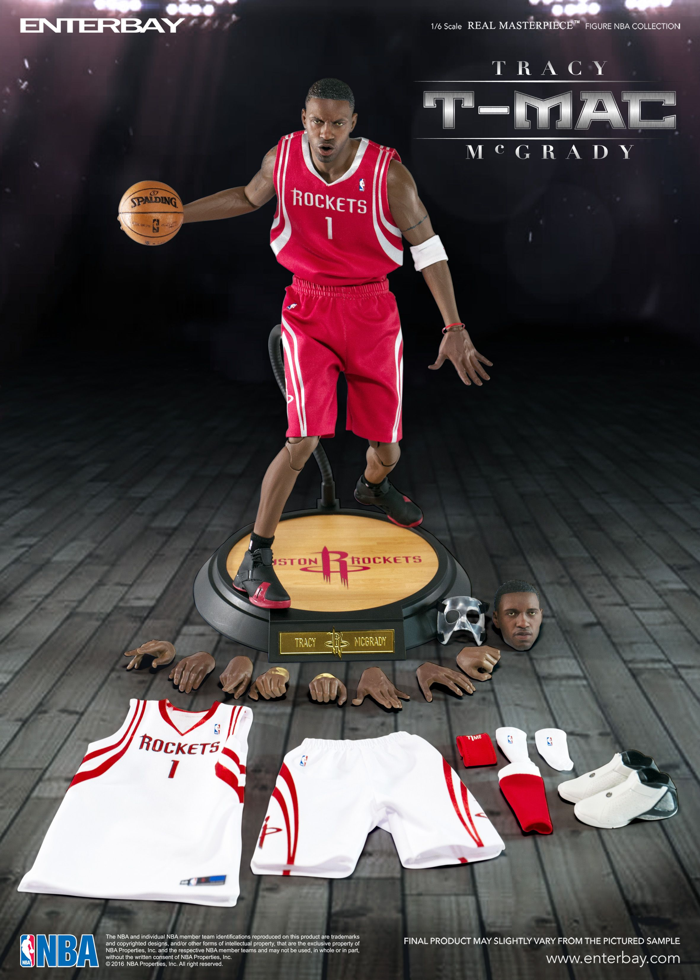 ec18e4101439ba 1 6 Real Master Piece Tracy McGrady (T-Mac) by ENTERBAY Official which  invites you to experience the innovation of our officially licenced NBA    movie ...