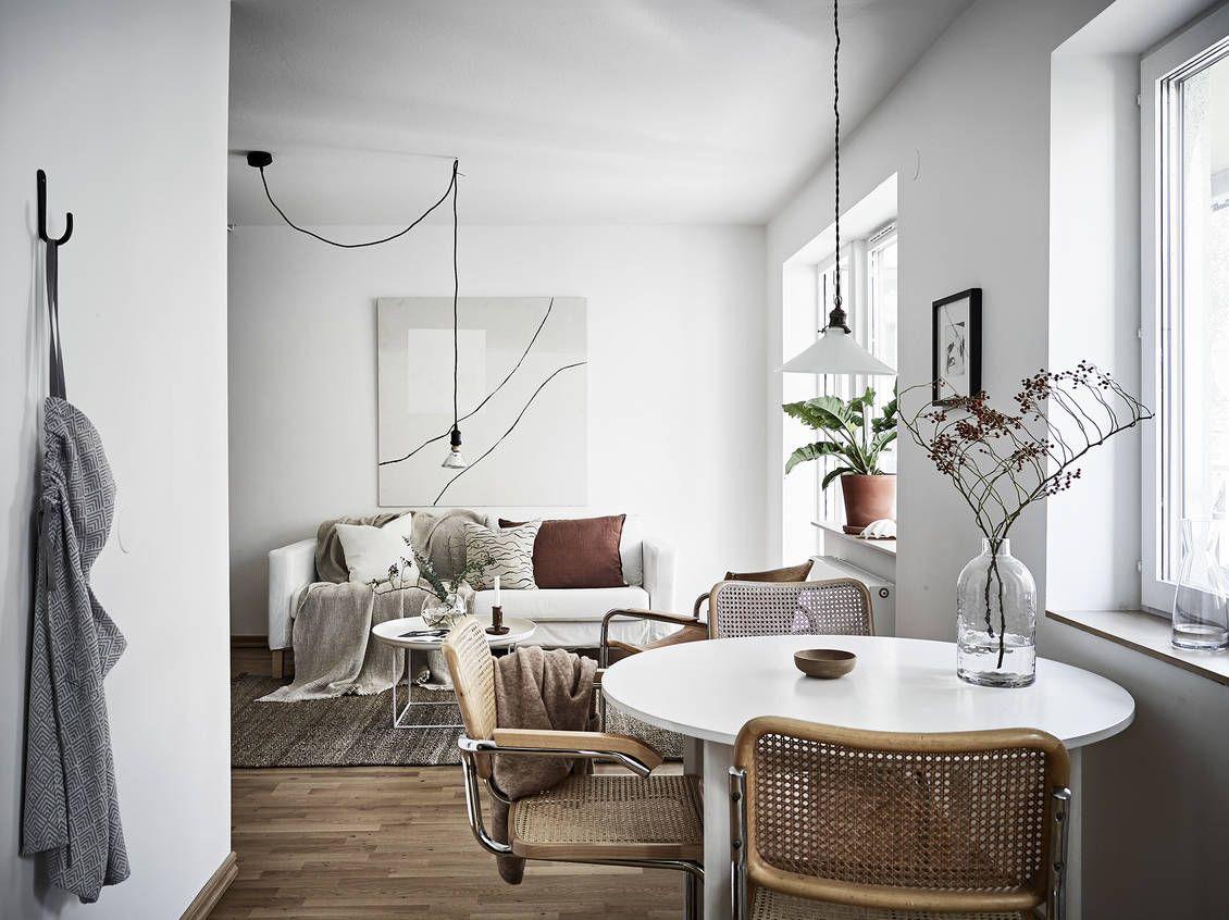 """Snyggt renoverad """"compact living""""-lägenhet med exklusiv känsla #compactliving"""