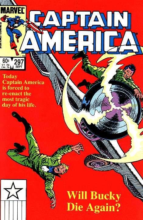 Captain America # 297 by Paul Neary & Joe Rubinstein