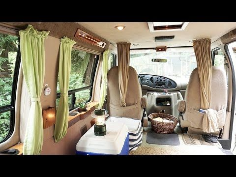 We Made These Diy Campervan Rv Curtains To Give Us More Privacy