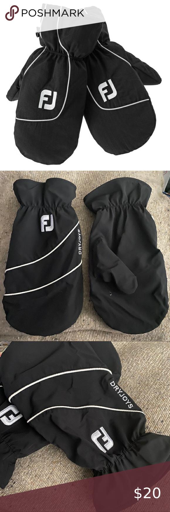 Foot Joy Glove Love golf cart mitts in 2020 Black fleece