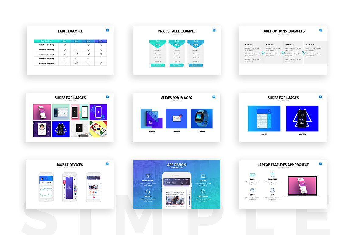 Clean powerpoint template template powerpoint presentation clean powerpoint template by slideforest on creativemarket alramifo Choice Image