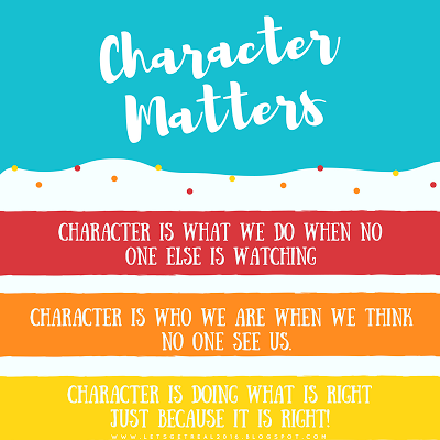 LET'S GET REAL: Do You Walk the Walk....... {Free Character Study Guide}