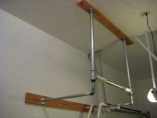 Constantly varied crossfit garage gym diy pull up bar cf gym
