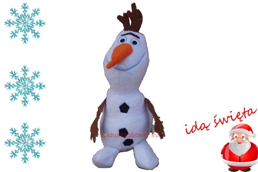 Olaf Pluszowy Maskotka Z Krainy Lodu Frozen 30cm Disney Olaf The Snowman Character