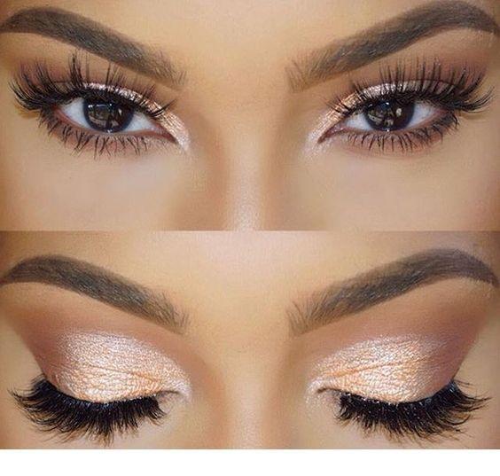 Photo of Rose gold eye makeup | Inspiring Ladies,  #eye #Gold #Inspiring #Ladies #makeup #Rose #rosego…