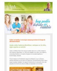 DietasCormillot.com - Trabajá en familia para lograr hábitos saludables! - Nota del Dr.Cormillot