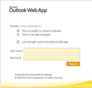 How to sort out Outlook web app login problems? Fixya
