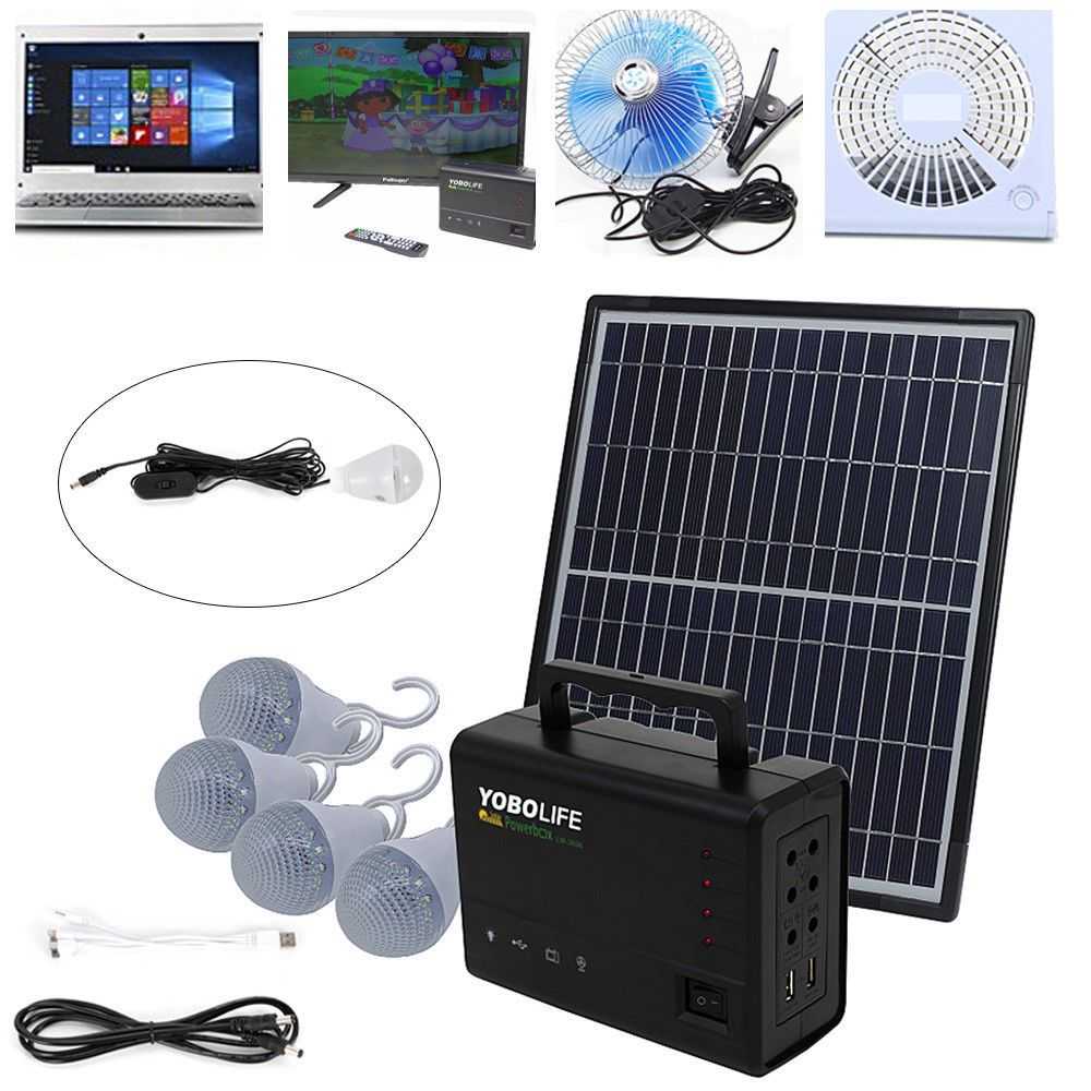 Solar Kit In 2020 Solar Power Diy Portable Solar Generator Power Generator