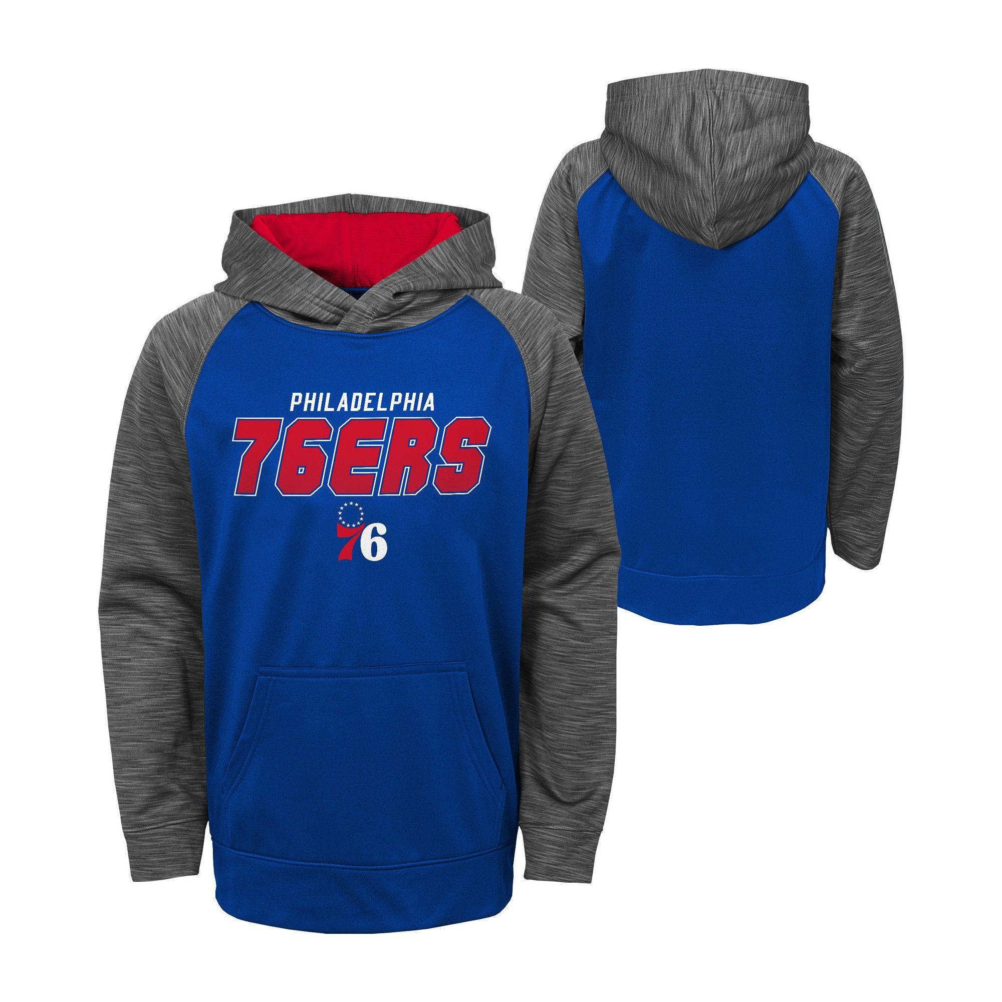 big sale f5e38 69795 Philadelphia 76ers Boys  Jump Shot Performance Hoodie XL, Multicolored