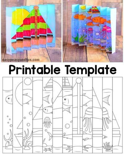 Photo of We have another fun project for your children (or you) during the hot summer… – architecture and art