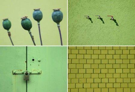 Grüne Wände und Strukturen. Fotos: www.tobiasott.de